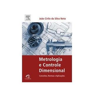 Livro - Metrologia e controle dimensional - Silva