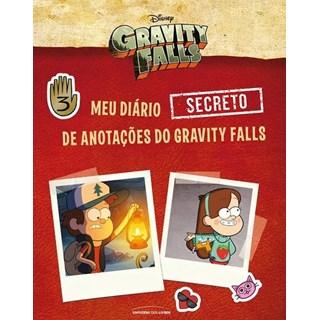 Livro - Meu Diário Secreto De Anotações Do Gravity Falls  - Blanco