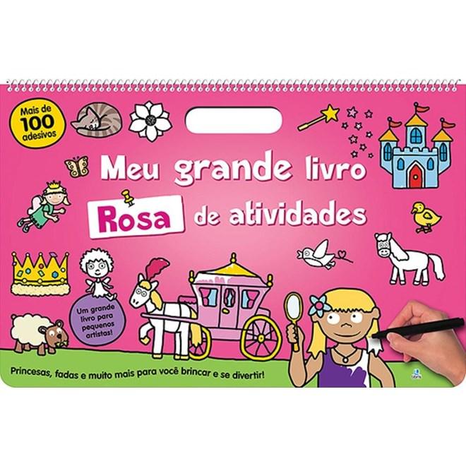 Livro - Meu Grande Livro Rosa de Atividades - Priddy