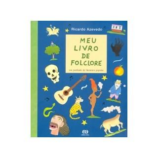 Livro Meu Livro de Folclore - Azevedo - Ática