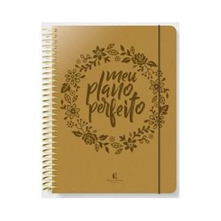 Livro - Meu plano perfeito (capa PU dourada) - Rigazzo 1º edição