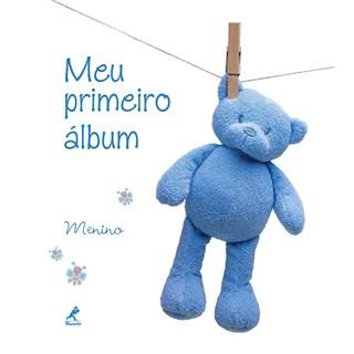 Livro - Meu Primeiro Album Menino - Fabianis