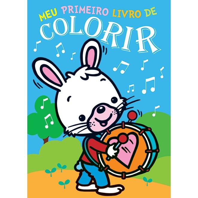 Livro - Meu Primeiro Livro de Colorir  2 - Libris