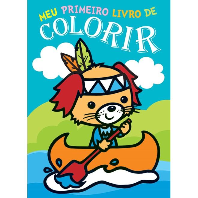 LIvro - Meu Primeiro Livro para Colorir - vol 1 - Libris