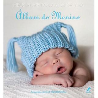 Livro - Meus Primeiros Anos de Vida - Álbum do Menino - Mendenhall