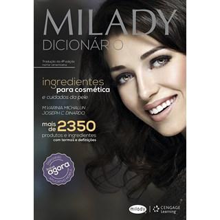 Livro Milady: Dicionário de Ingredientes Para Cosmética e Cuidados da Pele - Dinardo