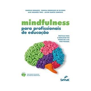 Livro - Mindfulness para profissionais de educação - Terzi 1º edição