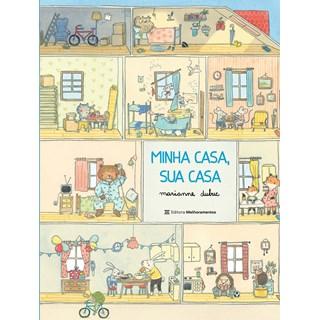 Livro Minha Casa, Sua Casa - Dubuc - Melhoramentos