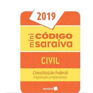 Livro - Mini Código - Civil - Saraiva