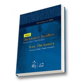 Livro - Mini-Dicionário Jurídico - Law Dictionary Português/Inglês/Português - Mello