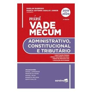 Livro - Mini Vade Administrativo, Constitucional E Tributário - Araujo Junior 8º edição
