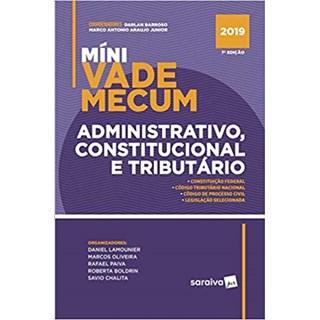 Livro - Míni Vade Mecum Administração, Constituição e Tributário - Araújo Junior