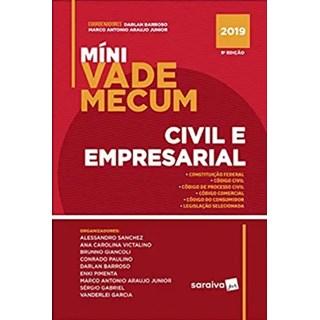 Livro - Mini Vade Mecum Civil E Empresarial - Saraiva