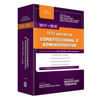 Livro - Mini Vade Mecum Constitucional e Administrativo - Spitzcovsky