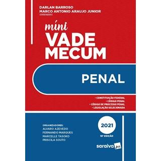 Livro - Mini Vade Mecum Penal - Araújo Junior