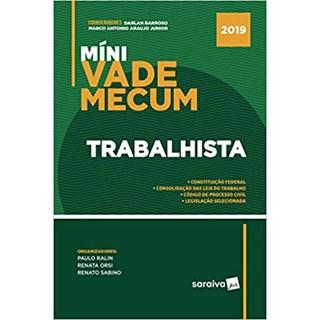 Livro - Mini Vade Mecum Trabalhista - Araújo Junior