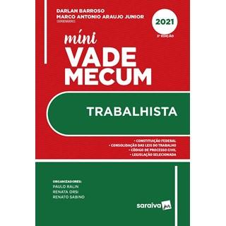Livro Mini Vade Mecum Trabalhista - Barroso - Saraiva