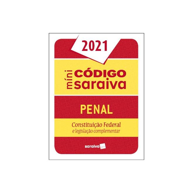 Livro - Minicódigo Penal e Constituição Federal – 26.ª Edição - 2020 - Editora Saraiva 26º edição