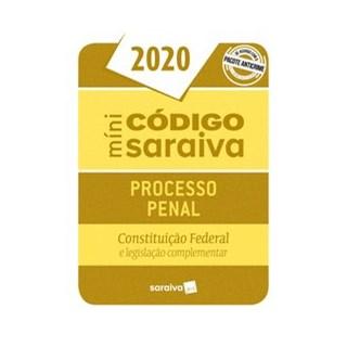 Livro - Minicódigo Processo Penal e Constituição Federal – 26.ª Edição - 2020 - Editora Saraiva 26º