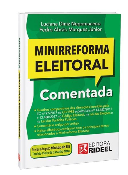 Livro - Minirreforma Eleitoral Comentada - Diniz