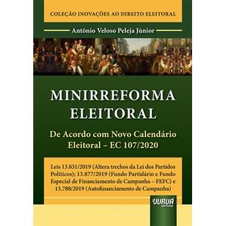 Livro Minirreforma Eleitoral - Júnior - Juruá