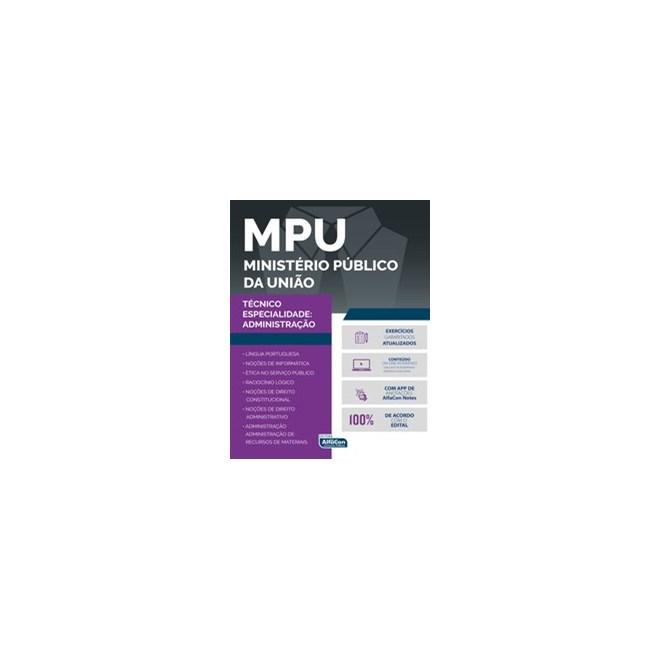 Livro - Ministério Público da União - MPU - Equipe Alfacon 2º edição