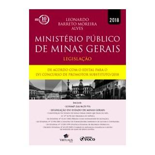 Livro - Ministério público de minas gerais - Alves 1º edição