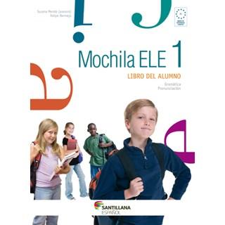 Livro Mochila Ele 1 - Mendo - Santillana