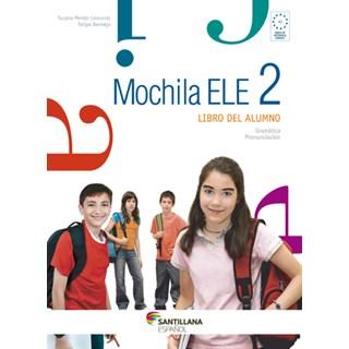 Livro Mochila Ele 2 - Mendo - Santillana