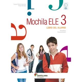 Livro Mochila Ele 3 - Mendo - Santillana