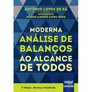 Livro - Moderna Análise de Balanços ao Alcance de Todos - Sá - Juruá