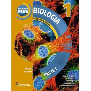 Livro - Moderna Plus Biologia - 1 Ano EM - Moderna