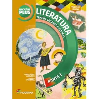 Livro - Moderna Plus Literatura - Volume Único EM