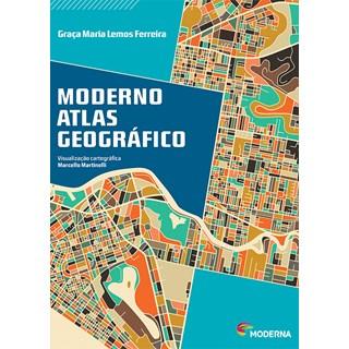Livro - Moderno Atlas Geográfico - At Work - Moderna