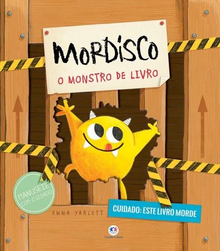 Livro - Mordisco - O monstro de livro 1ª edição