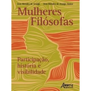Livro Mulheres Filosófas - Araújo - Appris