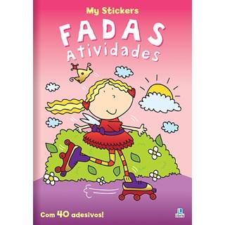 Livro My Stickers - Fadas Atividades - Libris