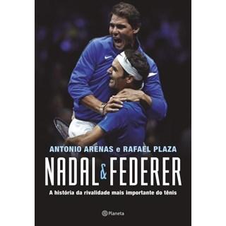 Livro - Nadal & Federer - Arenas - Planeta