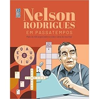 Livro - Nelson Rodrigues em Passatempos - Rodrigues - Coquetel