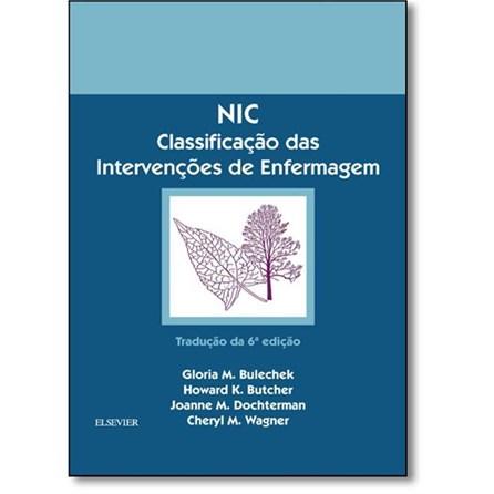 Livro - NIC - Classificação das Intervenções de Enfermagem - Bulechek