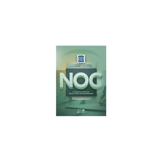 Livro - NOC Classificação dos Resultados de Enfermagem - Moorhead - Guanabara