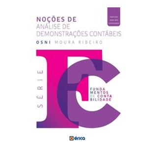 Livro - Noções De Análise De Demonstrações Contábeis - RIBEIRO 1º edição