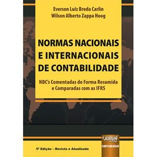 Livro Normas Nacionais e Internacionais de Contabilidade - Carlin - Juruá