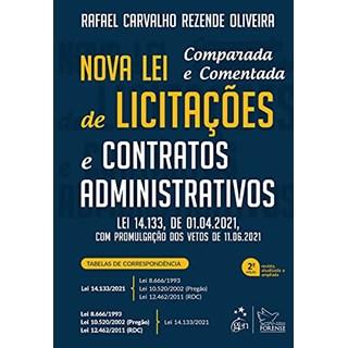 Livro Nova lei de Licitações e Contratos Administrativos - Oliveira - Forense