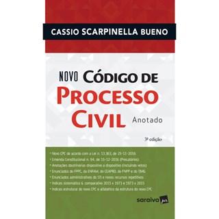 Livro - Novo Código de Processo Civil - Anotado - Bueno