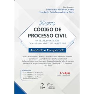 Livro - Novo Código de Processo Civil - Anotado e Comparado - Pinho