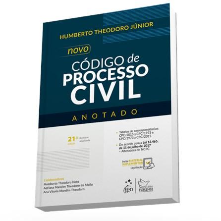 Livro - Novo Código de Processo Civil - Anotado - Theodoro Jr.