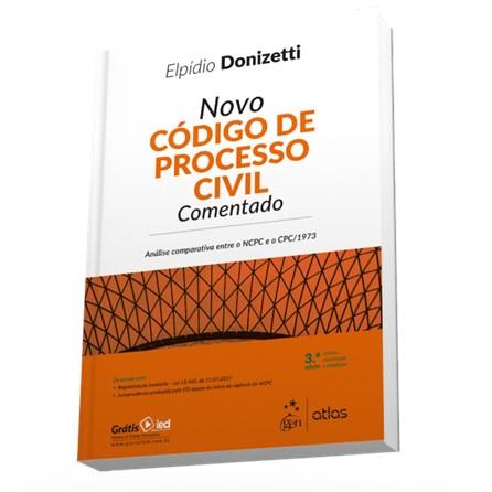 Livro - Novo Código de Processo Civil Comentado - Donizetti