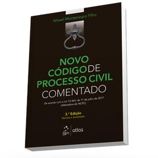 Livro - Novo Código de Processo Civil Comentado - Montenegro