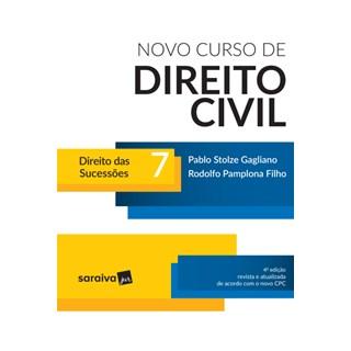 Livro - Novo Curso de Direito Civil - Direito Das Sucessões - Vol. 7 - 4ª Ed. 2017